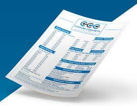 #83 for Price List PDF Design by zakir394