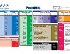 #82 for Price List PDF Design by salmasarker19