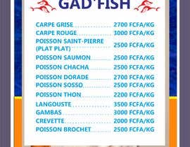 #109 for Design a Fish shop Poster by lupaya9