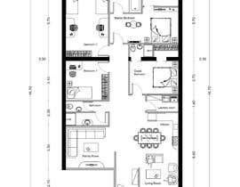 #22 for Interior living space remodel (basic - layout concepts only, detailed plans to be commisioned seperately) af DreamDesignDz