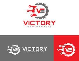 "#141 untuk Design a logo for an engineering firm called ""Victory Engineering"" oleh mdfarukmia385"