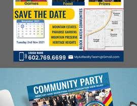 #101 for Flyer for Community Event af contrivance14
