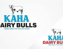 Nro 74 kilpailuun Design a Logo for Kaha Dairy Bulls käyttäjältä creazinedesign