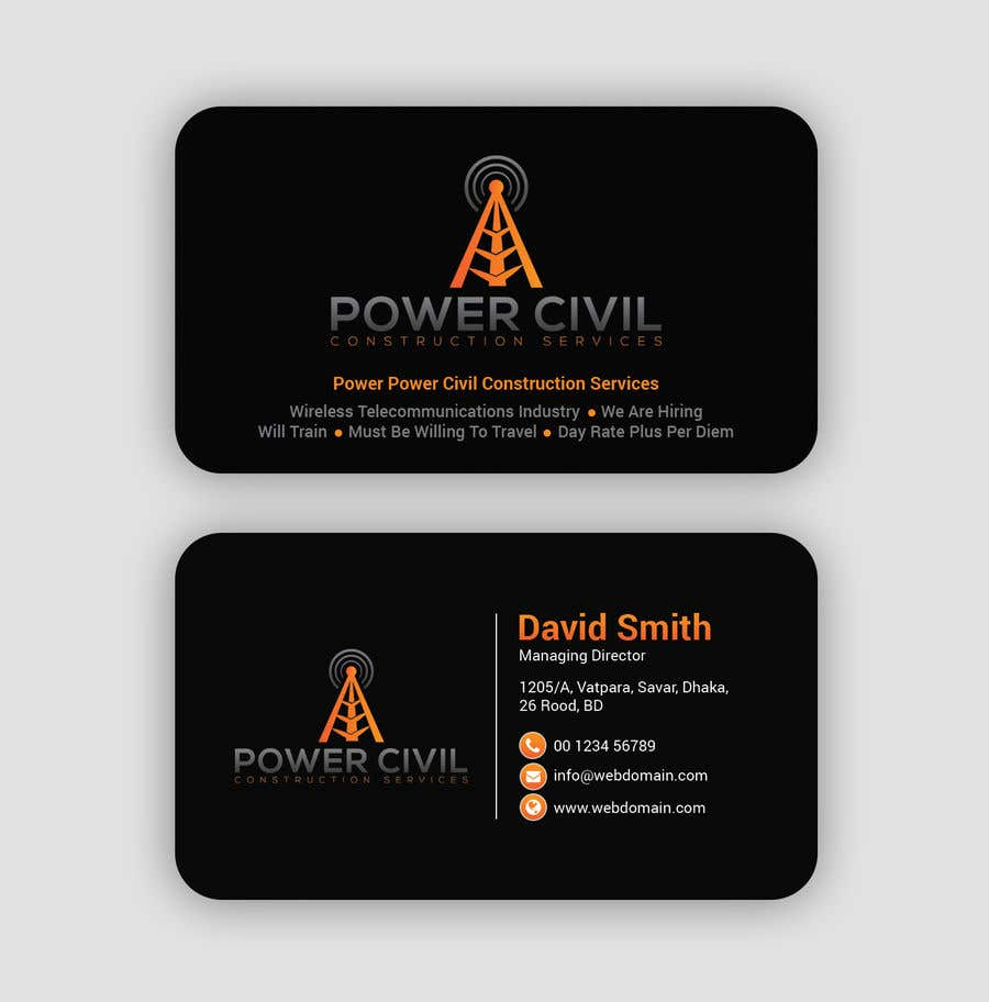 Конкурсная заявка №                                        9                                      для                                         Business/Hiring Card Design