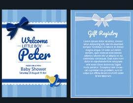 Nro 287 kilpailuun Design Me A Baby Shower Invitation käyttäjältä AimanKhan16