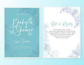 Nro 128 kilpailuun Design Me A Baby Shower Invitation käyttäjältä ally27vin