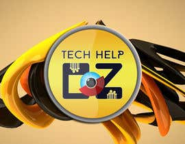 #73 for Design a Banner for Tech Help Oz af georgeecstazy