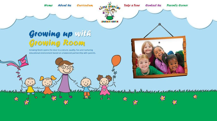 Inscrição nº                                         7                                      do Concurso para                                         Design a Website Mockup for Little Einstein's Learning Center (Daycare)