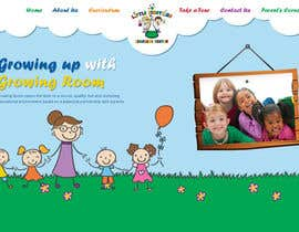 #7 cho Design a Website Mockup for Little Einstein's Learning Center (Daycare) bởi azzicreative