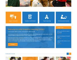 #12 cho Design a Website Mockup for Little Einstein's Learning Center (Daycare) bởi syrwebdevelopmen