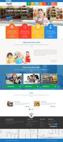 #21 cho Design a Website Mockup for Little Einstein's Learning Center (Daycare) bởi ankisethiya