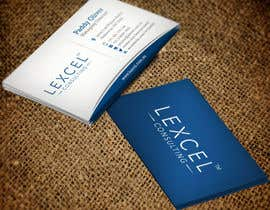 mdreyad tarafından Design some Business Cards for Lexcel Consulting için no 220