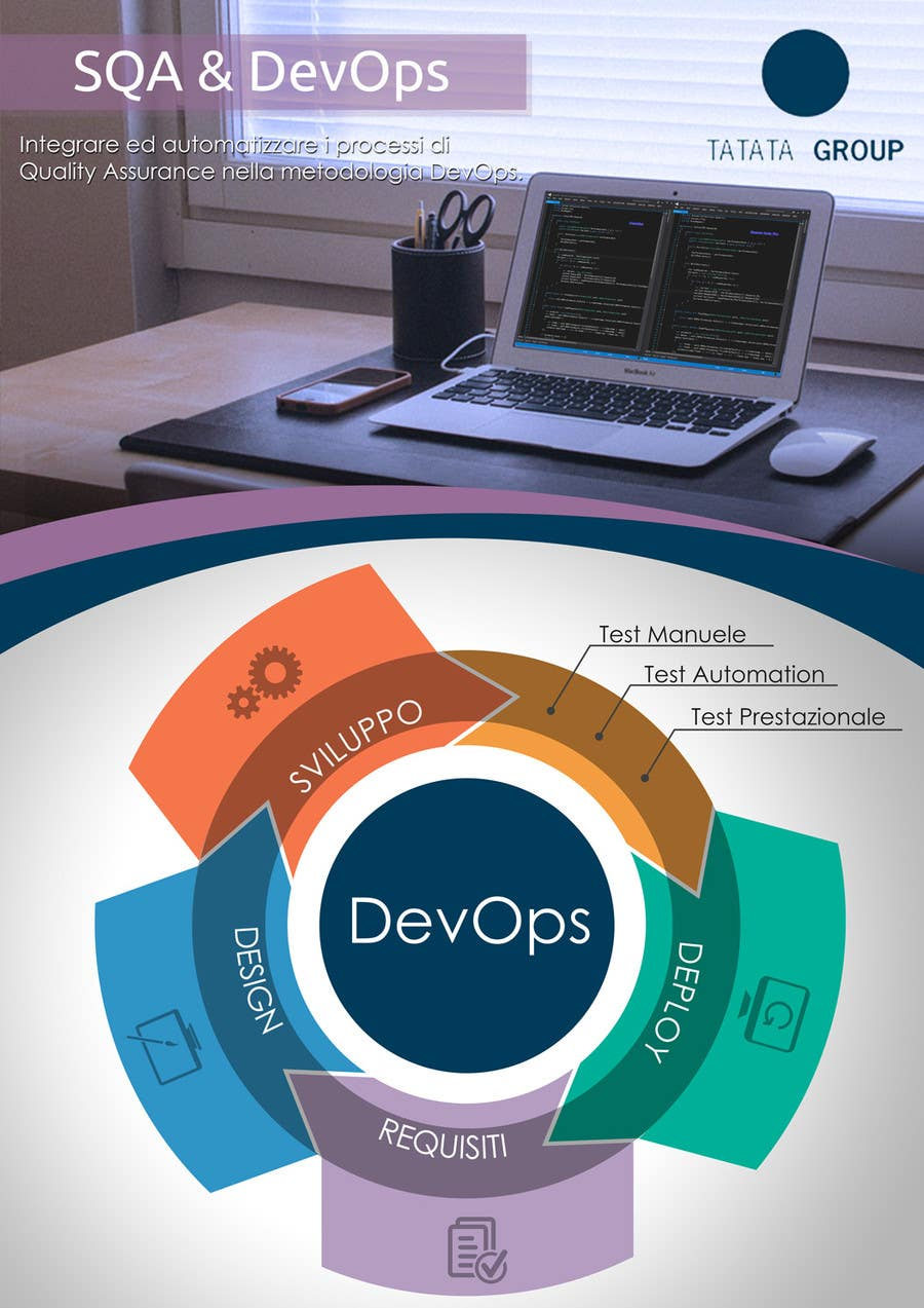 Inscrição nº 5 do Concurso para Design an eye-catchy single page flyer regarding software development topics.