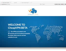 #13 para Create a Wordpress Template for cheapvpn.co.za por crystales
