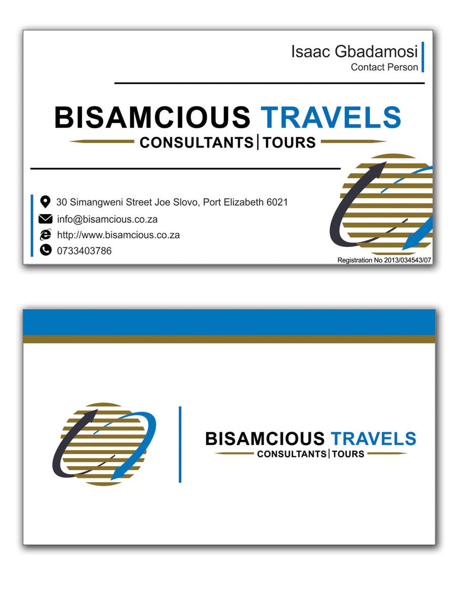 Contest Entry #                                        10                                      for                                         Design a letterhead and business cards for a travel consultantcy