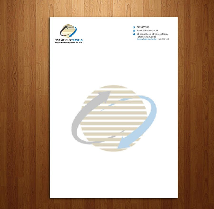 Contest Entry #                                        13                                      for                                         Design a letterhead and business cards for a travel consultantcy