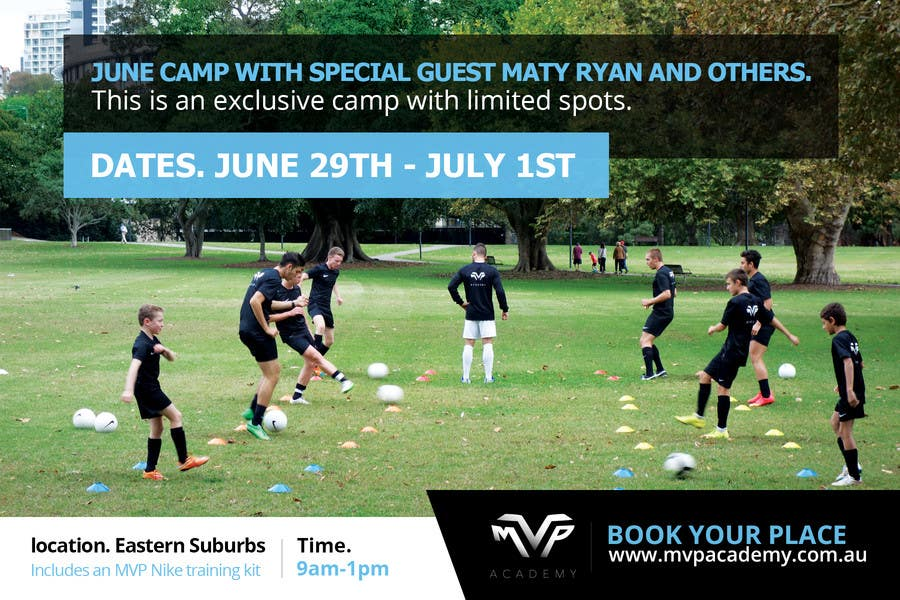 Contest Entry #                                        10                                      for                                         Design a Banner for soccer camp
