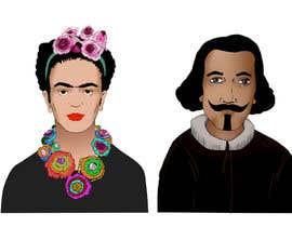 #7 for Ilustración personajes de  Velazquez y a Frieda/ frieda and Velazquez characters af Neephym