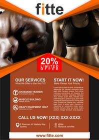 #2 untuk Design a Flyer for Fitness Business oleh akira9fold
