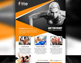 Mondalstudio tarafından Design a Flyer for Fitness Business için no 12