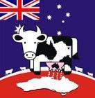 Graphic Design Inscrição do Concurso Nº24 para Design a Logo for an Australian Milk dairy looking to exporting milk