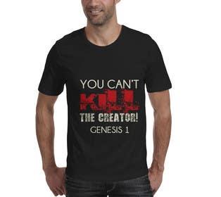 Nro 43 kilpailuun Design a T-Shirt for you cannot kill the creator käyttäjältä Designermb