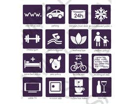J1238 tarafından Design some Icons for hotel amenities için no 13