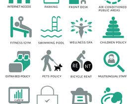 #19 cho Design some Icons for hotel amenities bởi DesignStorm15