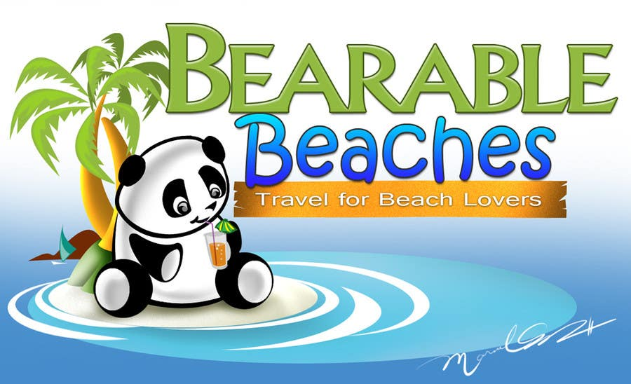 Logo Design Contest Entry #97 for Design a Logo for Bearable Beaches