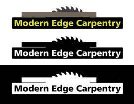 nº 52 pour Design a Logo for Modern Edge Carpentry par cowboyrg