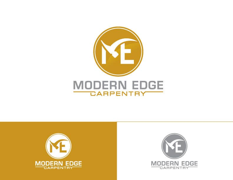 Konkurrenceindlæg #                                        55                                      for                                         Design a Logo for Modern Edge Carpentry