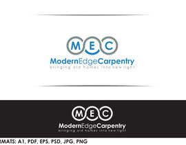 #56 for Design a Logo for Modern Edge Carpentry by tolomeiucarles