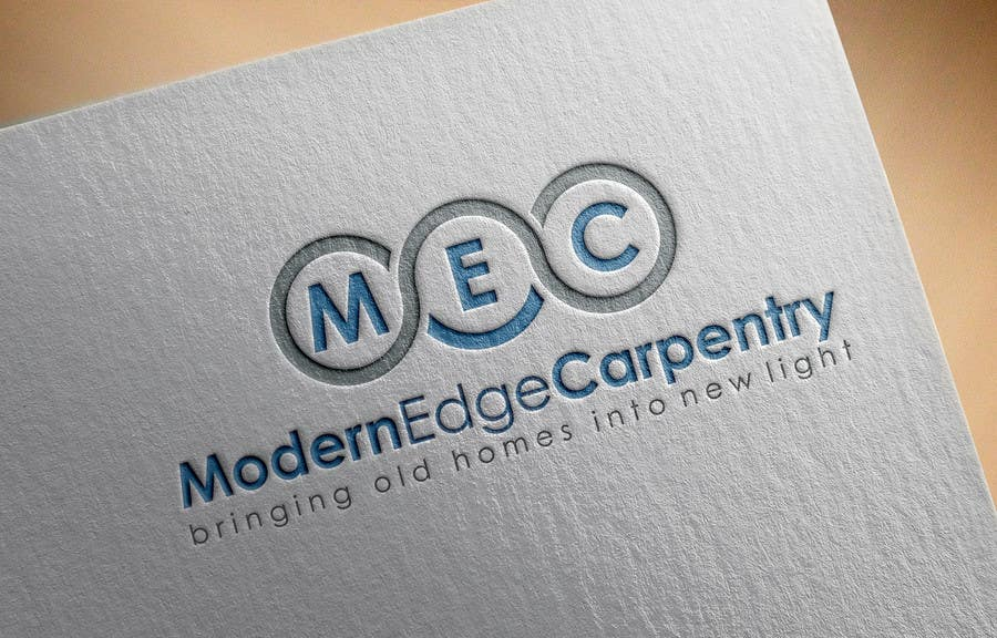 Konkurrenceindlæg #                                        57                                      for                                         Design a Logo for Modern Edge Carpentry