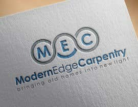 nº 57 pour Design a Logo for Modern Edge Carpentry par tolomeiucarles