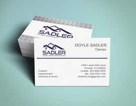 #38 cho Design some Business Cards for sadler home improvements bởi niloynil445