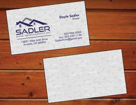 xmsdesigns tarafından Design some Business Cards for sadler home improvements için no 42