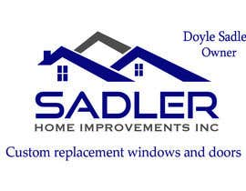 NILESH38 tarafından Design some Business Cards for sadler home improvements için no 11