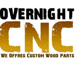 #4 for Design a Logo for Overnight CNC by parteekrsnr