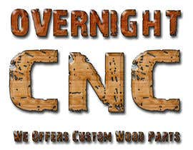 nº 5 pour Design a Logo for Overnight CNC par parteekrsnr
