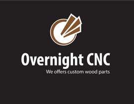 designcreativ tarafından Design a Logo for Overnight CNC için no 12