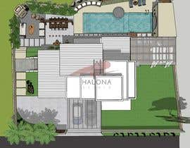 #53 cho Landscape re-design of an exterior area with Pool, Dinning, BBQ , shower and Lounge areas. bởi intan3113