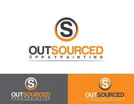 #57 untuk Design a Logo for Outsourced Spraypainting oleh anoopray
