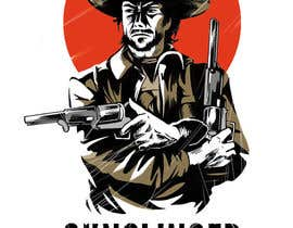 #77 para Clint Eastwood illustration logo contest por danomano65