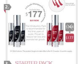 #22 for Design an email Flyer to market an amazing new hair regrowth product by YogNel