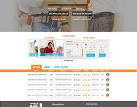 #16 cho Design a Website Mockup for HireHelp.com bởi Adzibabo