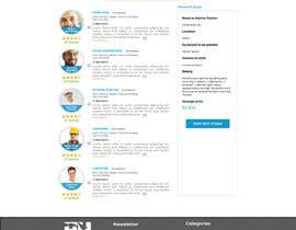 #17 cho Design a Website Mockup for HireHelp.com bởi Adzibabo