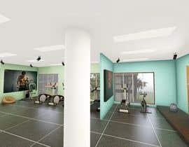 nº 11 pour MDC FITNESS CENTER 3d design par milonarchi