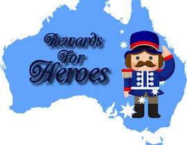 #21 para Design a Logo for rewardsforheroes.com.au por EvaLisbon