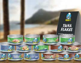 nº 20 pour Canned tuna label and poster design. par rabdurahmanov
