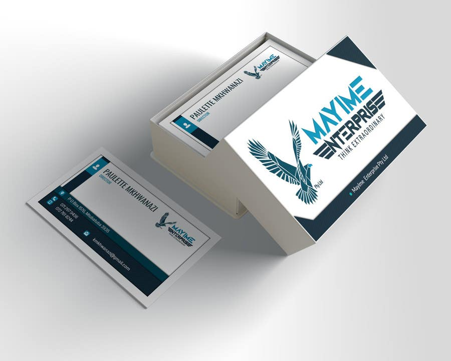 Contest Entry #                                        4                                      for                                         Design a business card for a holding company